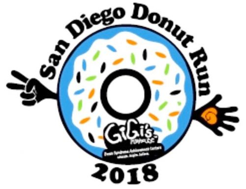 San Diego Donut Run for Gigi's Playhouse.